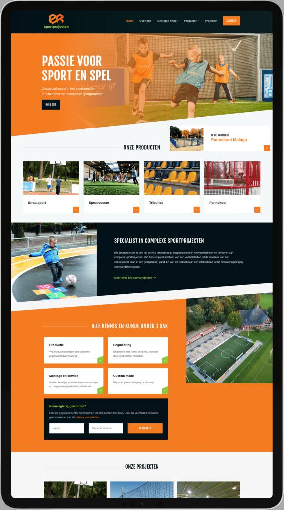 ER Sportprojecten project MarqMedia